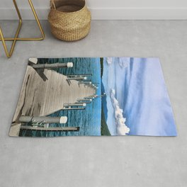 Stepping to the Sea Rug