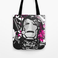 pain Tote Bags featuring Pain. by UrbanMedium