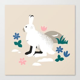 Bunny in Spring Canvas Print