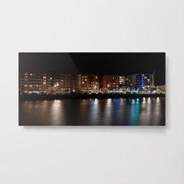 Sheepshead Bay at night, Brooklyn, New York (2020-5-GNY123) Metal Print