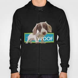 """WOOF"" ~ Dachshund, Weiner Dog, Doxie, everywhere! Hoody"