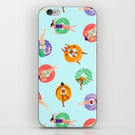 Lazy River Ladies iPhone Skin