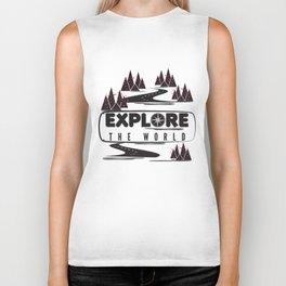Explore the world Biker Tank