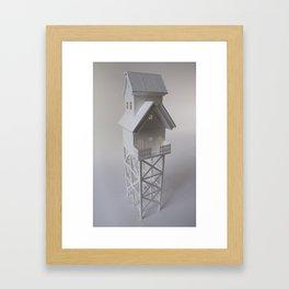 The Tiny Garderner Framed Art Print