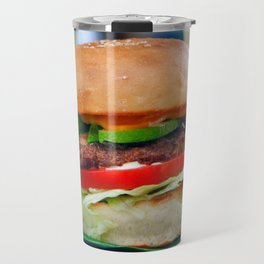 Gourmet Burger and Smoothies  Travel Mug