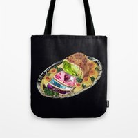 gem Tote Bags featuring Gem Roast by Eugenia Loli