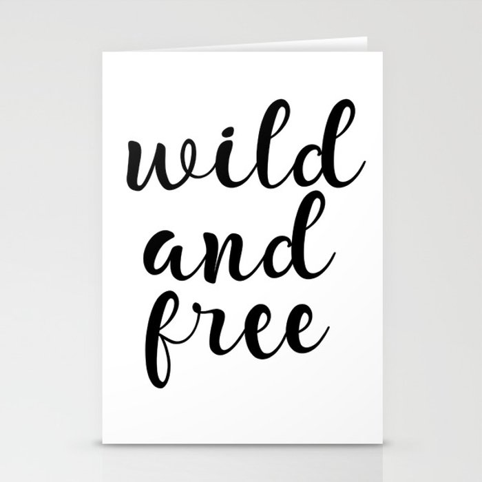 picture about Free Quote Printable called Wild And Cost-free, Inspirational Estimate, Motivational Quotation, Typography Quotation, Printable Wall Artwork, Present Stationery Playing cards by way of artbynikola