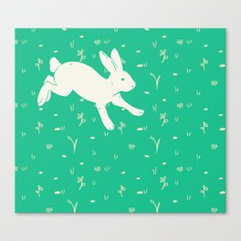 Running Bunny Canvas Print