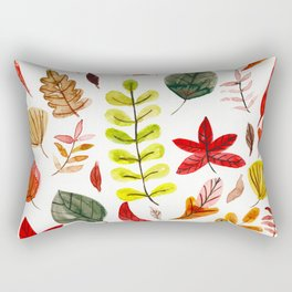Autumn in February Rectangular Pillow