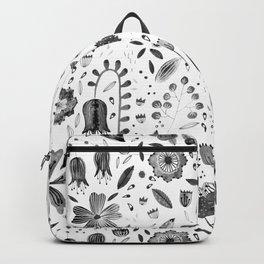 Inky Autumn Hedgerow Backpack