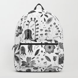 Inky Autumn Hedgerow Backpack