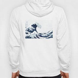 The Great Wave - Halftone Hoody