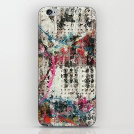 Analog Synthesizer, Abstract painting / illustration iPhone Skin