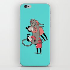 It's always a good time to hug a cat iPhone & iPod Skin