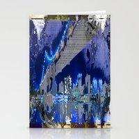 brooklyn bridge Stationery Cards featuring Brooklyn Bridge by Robin Curtiss