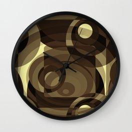 Retro Kringle Wall Clock