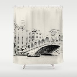 Venice - Study 26 Shower Curtain