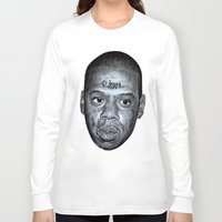 jay z Long Sleeve T-shirts featuring JAY-Z by Jahwan by JAHWAN