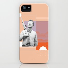 PJ with a Pipe iPhone Case