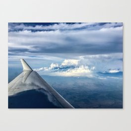 Flight of Clouds Canvas Print