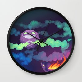 Toxic Encounter Wall Clock