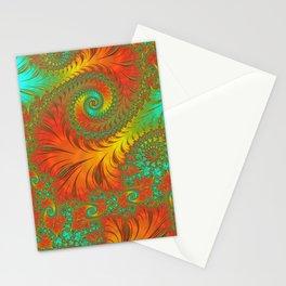 Mediterranean Muse - Fractal Art Stationery Cards