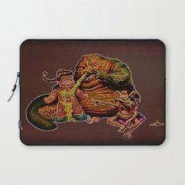 Jabba The Snot Laptop Sleeve