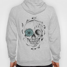 Poetic Wooden Skull Hoody