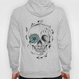 Poetic Wooden Skull Hoody