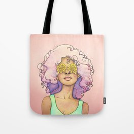 Flowered Sight Tote Bag