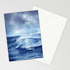 Blue wave Stationery Cards