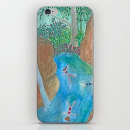 Wild Swimming iPhone Skin