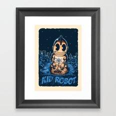 savior Framed Art Print