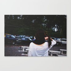 hair Canvas Print