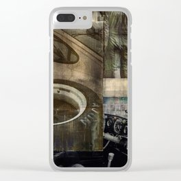 SRC Preparations Wall Art 934 Race One Clear iPhone Case