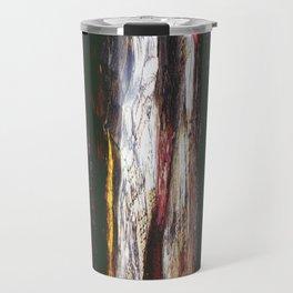 Aged Wood Structure rustic decor Travel Mug