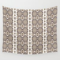 ethnic Wall Tapestries featuring Ethnic Decor by Paula Belle Flores