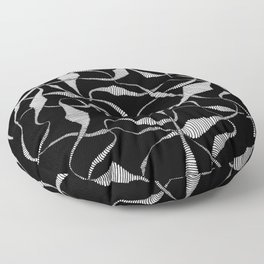 Ink and persistence Floor Pillow