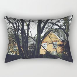 Houses in the forest Rectangular Pillow