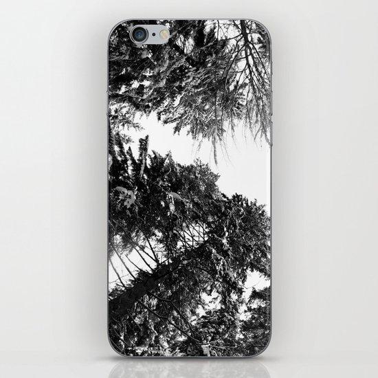 snow + trees iPhone & iPod Skin