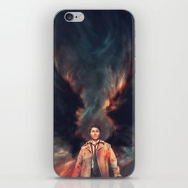The Angel of the Lord iPhone Skin