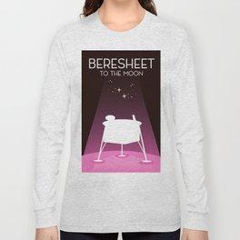 Beresheet, moon lander Long Sleeve T-shirt