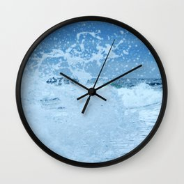 Exploding Surf Wall Clock