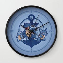 Team Blastoise Wall Clock