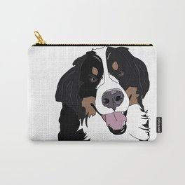 Angus the Bernese Mountain Dog Carry-All Pouch