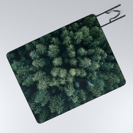 Forest from above - Landscape Photography Picnic Blanket