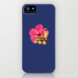 9mm Hibiscus iPhone Case