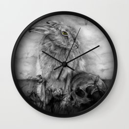 INTO DUST Wall Clock