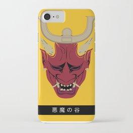 Samurai Hannya - Japanese demon ( Oni ) iPhone Case