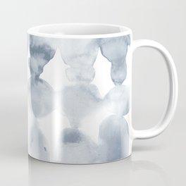 Dye Ovals Blue Fog Coffee Mug